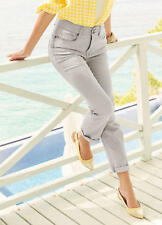 Kaleidoscope Sz  8 Grey High Waist Slim Fit JEANS Bum Lift & Shape Versatile £42