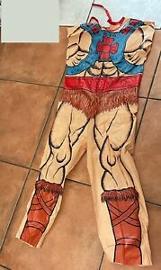 HE-MAN Master of the Universe Body costume 1982, no mask