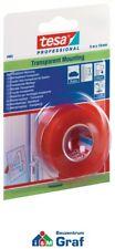tesa doppelseitiges Klebeband / Montageband transparent 5 m x 19 mm /#870711