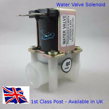 "DC-12V Magnetic Solenoid Valve - N/C - Female Thread 1/4"" Available in UK"