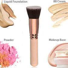 Pro Large Flat Top Powder Foundation Bronzer Blusher Contour Makeup Brush Tool