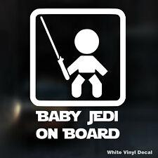STAR WARS DARTH VADER Baby On Board auto camion finestra decalcomania in vinile