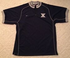 Stitched Xavier Musketeers NCAA College Basketball Nike Sports Jersey Adult XL