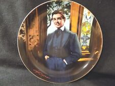 """GONE WITH THE WIND COLLECTORS PLATE """" RHETT FRANKLEY MY DEAR"""""""