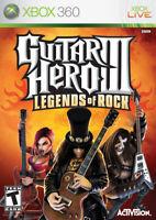 Guitar Hero III Legends Of Rock Xbox 360 Game Complete