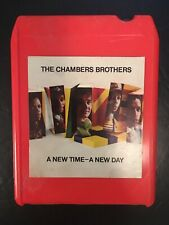 The Chambers Brothers : A New Time A New Day : 8 Track : VERY RARE! VERY COOL!