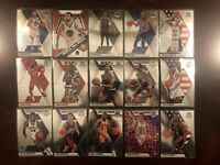 2020 Panini Mosaic All Star + HOF Lot (15) Curry Durant Magic Barkley Wilt