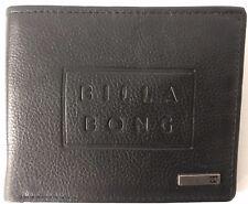 Men's Billabong Boss Black Leather Wallet. RRP $49.99. NWOT.