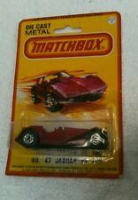 1980 Lesney Matchbox No. 47 JAGUAR SS 100
