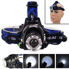 12000LM Zoomable XM-L T6 LED Rechargeable Headlamp Torch Headlight 3-Mode GA