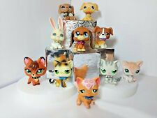 Littlest Pet Shop Accessories Custom Spiked & Jeweled Collars - Lot of 6 - LPS