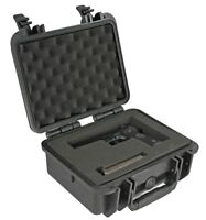 Pistol Hand Gun hard Case for Full size Beretta Ruger Smith & Wesson Sig Sauer +
