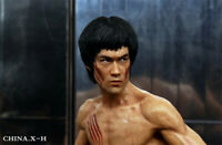 CHINA. X- H 1:6 Scale Bruce Lee Enter the Dragon Double-headed Figure Statue Toy