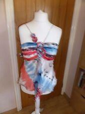 Designer Marcelane 12 silk top gorgeous
