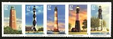 2003 Scott #3787-3791 - 37¢ - Southeastern Lighthouses - Strip of 5 - Mint Nh