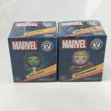 Marvel Collectors Corps Exclusive Funko Mystery Minis Captain Marvel & She-Hulk