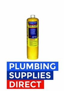 * Yellow MAPP / MAP Pro Gas Cylinder 400gms Disposable Bottle - Soldering