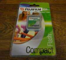 VINTAGE FUJIFILM 256MB DIGITAL MEMORY CARD COMPACTFLASH NEW SEALED fuji camera