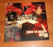 Lo Fidelity Allstars How to Operate with a Blown Mind Poster Flat 1998 12x12