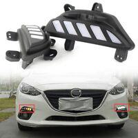 New Left Front Bumper Fog Light Lamp Cover BKD1-50-C21 For Mazda 3 AXELA 2014