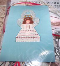 Design Works ANGEL Door Knob Hangers Plastic Canvas Kit