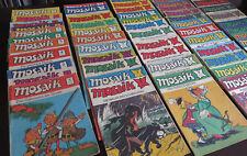 Mosaik Abrafaxe Jahrgänge 76 - 89 / fast komplett