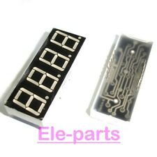 10 Pcs 4 Digits 036green 7 Segment Led Display Common Anode 12 Pins 4 Digit