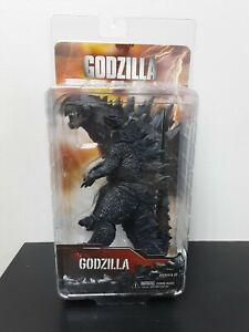"Godzilla 2014 Movie Godzilla 6"" Tall Monster 12""Long Action Figure NECA 2014 NEW"
