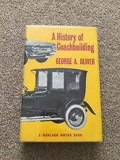 A History of Coachbuilding by George Arthur Oliver Very Rare Book Mint Condition