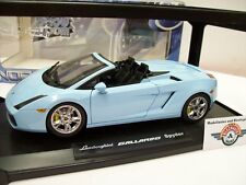 Lamborghini Gallardo Spyder, light blue, 2006, Norev 1:18, OVP