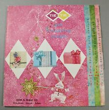 MEIER & FRANK CO. GIFT WRAPPING MAGIC HOW TO PROMO BOOKLET HALLMARK HOLIDAY
