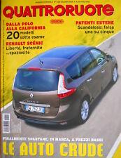 Quattroruote 644 2009 Prova Fiat Punto 1.6 MJT. Prova Ferrari California  [Q.58]