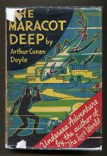 THE MARACOT DEEP by Arthur Conan Doyle - 1929 1st American Edition in DJ