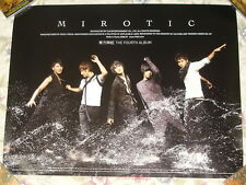 Korea IDOL TOHOSHINKI Vol.4 Mirotic Taiwan Promo Poster (TVXQ)
