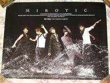 Korea IDOL TOHOSHINKI Vol.4 Mirotic Taiwan Promo Poster (TVXQ)