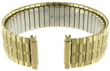 16-21mm Speidel Stainless Steel Elegant Link Gold Tone Mens Watch Band 1364/33XL