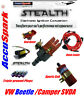 VW Camper Electronic Distributor Coil,plugs,red leads,red rotor ignition kit V1