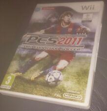 Pro Evolution Soccer 2011 (Nintendo Wii, 2010) - European Version
