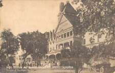 Paso Robles Hot Springs California Hotel Street View Antique Postcard K79665