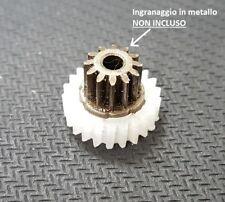 Ingranaggio gear in nylon per motoriduttore stufa a pellet Kenta K911 5 rpm
