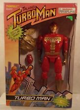 "Jingle All The Way Exclusive 13 1/2"" TurboMan Talking Figure By Tiger (MISB)"