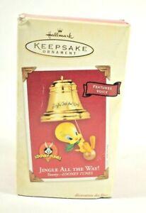 "Hallmark Keepsake Ornament: Looney Tunes ""Jingle all the Way!"" Tweety Bird Sings"