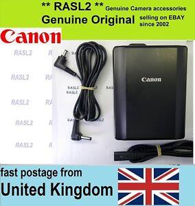 Genuine Canon CA-940 Compact Power Adapter + DC940 EOS C300 C500 PL,C100 Mark II