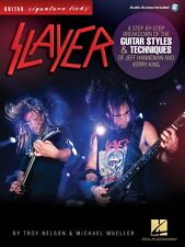 Slayer Signature Licks - A Breakdown of the Guitar Styles and Techniqu 000121281