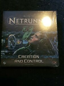 ANDROID NETRUNNER Card Game - CREATION AND CONTROL Expansion Pack Sealed