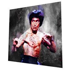 Bruce Lee Pared Arte-Gráfico Arte Cartel