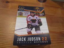 2017-18 VERNON VIPERS JACK JUDSON BCHL SINGLE PLAYER CARD