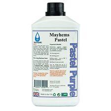 Mayhems Pastel Pre Mixed Water Cooling Liquid Coolant Purple Fluid 1 Litre