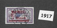 #1917  3 Mark  Used stamp 1922 Memel / Lithuania / Prussia / Third Reich Germany