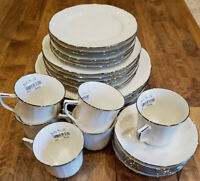* 6 Place Settings * Noritake China IMPERIAL PLATINUM Dinner Plate Set - NEW!